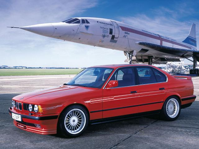 BMW Alpina B10 Bi-Turbo 1989-1993 : This was the world's fastest four-door car when it went on sale in 1989. It had a top speed in excess of 290kph and a 0-100kph time of 5.6 seconds. With a pricetag of $90,000, it was also one of the world's most expensive. However, Alpina made 507 in five years. Photo:AFP