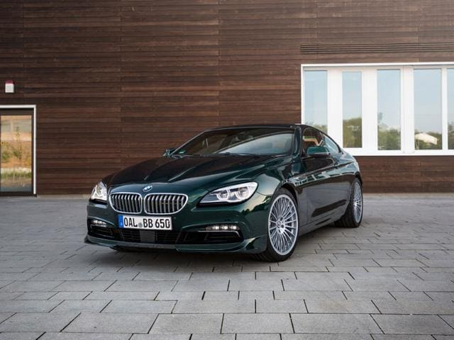 BMW Alpina Edition 50 2015 : The latest Alpina, the Edition 50 is the most powerful and fastest in the company's history -- 600hp, a top speed of 204mph (328kph) and production capped to 50 Sedan and 50 coupe versions in each territory in which the company currently operates. Photo:AFP