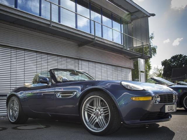 BMW Alpina Roadster V8 Limited Edition 2002-2003 : Not all BMWs were perfect driving machines and the Z8 was a perfect example. Yet Alpina's version managed to correct a lot of the original's errors and despite its huge ticket price -- €131,900 -- accounted for 10% of total Z8 sales (555 examples). It's also the car that cemented Alpina's reputation in North America. Photo:AFP
