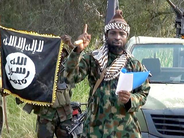 A screengrab of Boko Haram leader Abubakar Shekau from a video released by the Nigerian Islamist group. (AFP Photo)