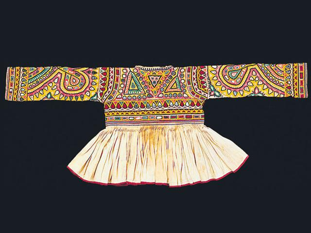 A Rabari child's jacket, from the 20th century is expected to be on display at the event. (Picture credit: V&A Museum)
