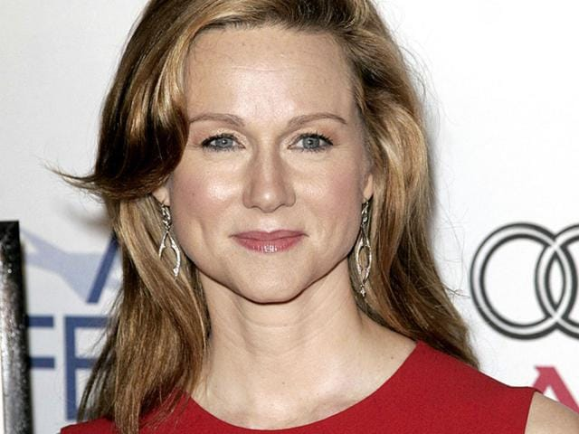Joining the cast of Clint Eastwood's Sully, along with Aaron Eckhart and Tom Hanks, is Laura Linney who is in talks with the team for the role of Hanks' on-screen wife. (Shutterstock Photo)