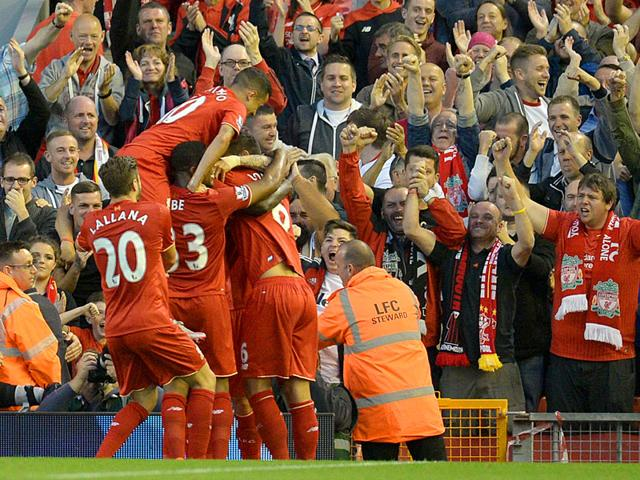 Liverpool vs Bournemouth,Christian Benteke,English Premier League