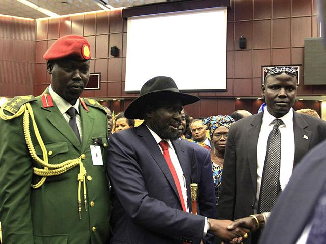 Salva Kiir,South Sudan civil war,Riek Machar