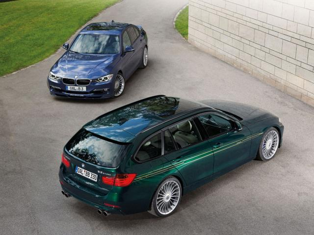The BMW Alpina D3 Bi-Turbo 2013 : When this car went on sale in 2013, it was the world's fastest production diesel car, whether in sedan or station wagon form. Capable of hitting 100kph in 4.6 seconds and a top speed of 173mph (278kph), it could return 53mpg. Photo:AFP