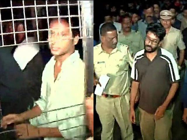 Five students were arrested by police under sec 353 of IPC by a complaint filed by Prashant Pathrabe, director of FTII. (Image via Twitter, @Ani_news)