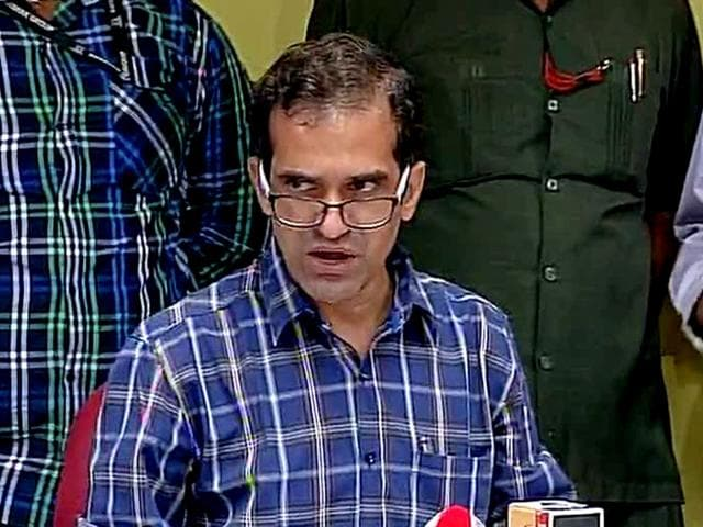 Prashant Pathrabe said that it was a pre-planned event to show the Director and the Institution in poor light. (ANI Photo)