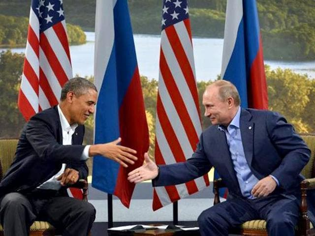 Russian President Vladimir Putin may consider meeting US President Barack Obama during the UN General Assembly in New York in September. (AFP File Photo)