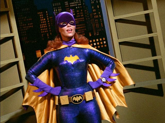 A file picture of Yvonne Craig. She portrayed the crime-fighting Batgirl in the 1960s TV hit, Batman. Craig died Monday, August 17, 2015 in her Los Angeles home from complications from breast cancer. She was 78. (Warner Bros. Entertainment Inc via AP)