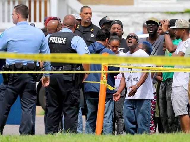 Black teenager,St Louis,Police