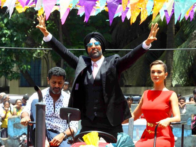 Akshay Kumar,Prabhudeva,Singh is Bling