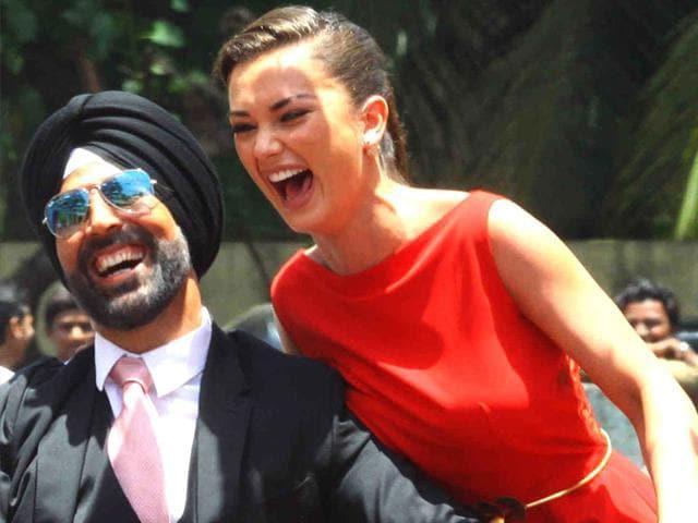 Akshay Kumar,Singh Is Bliing,Amy Jackson