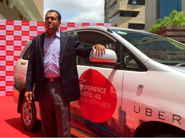 Airtel and Uber have tied-up to offer free WiFi on cabs.