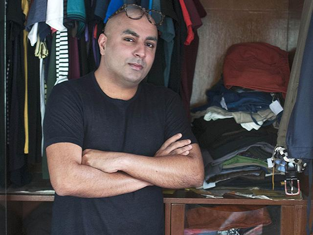 From vibrant polos to funky socks, designer Krsna Mehta's wardrobe is as eclectic as his personality. (Photo credit: Anurag Banerjee)