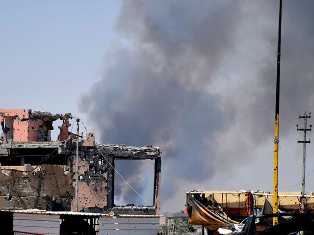 Islamic State,United State and allies,Iraq