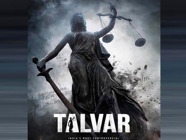 The first poster of Meghna Gulzar's Talvar. The film is based on Arushi Talwar's murder case.