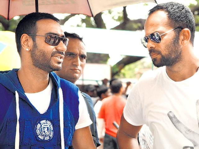 Ajay Devgn was the lead of Rohit Shetty's first film Zameen.