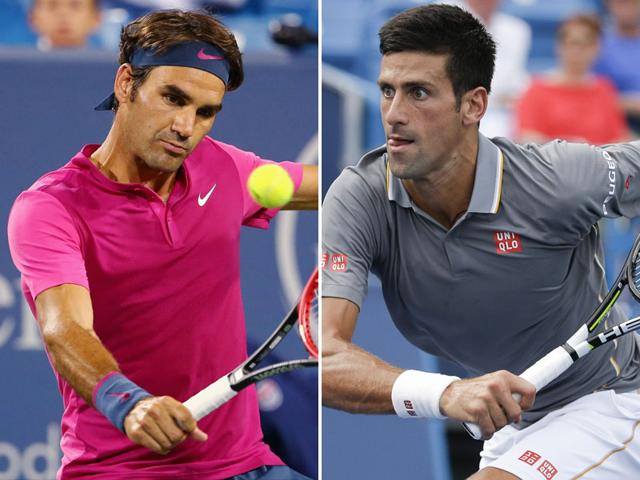 Djokovic and Federer are even with 20 wins apiece in 40 prior career meetings.