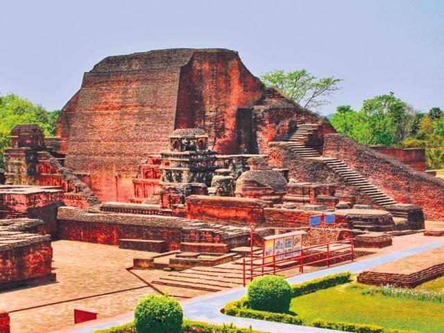 Nalanda University,History,Ancient centres of learning