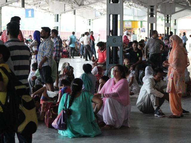 Railway,traffic,pathankot