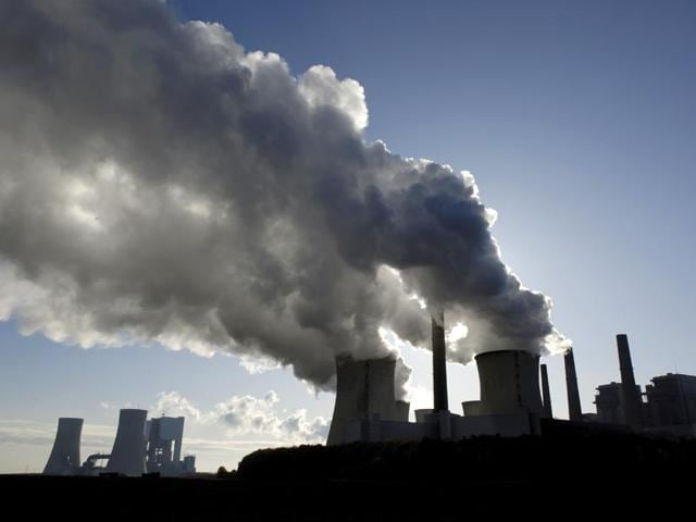 Industrial emissions are one of the major contributor to global warming (HT Photo)