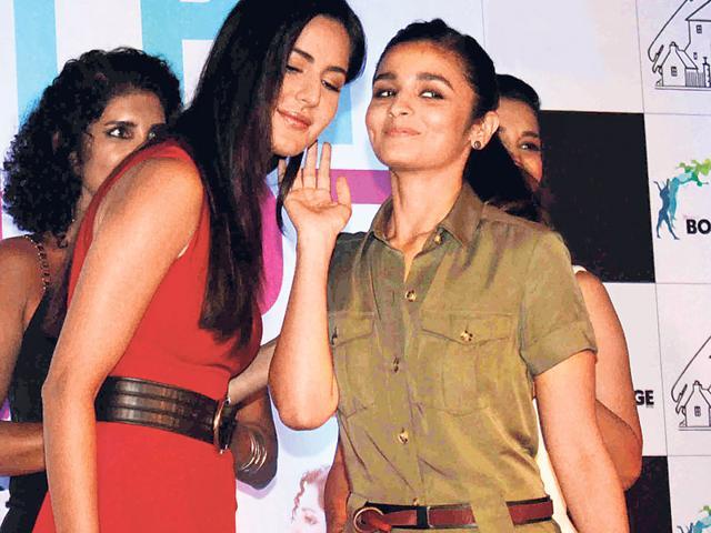 Katrina Kaif,Alia Bhatt,Chikni Chameli
