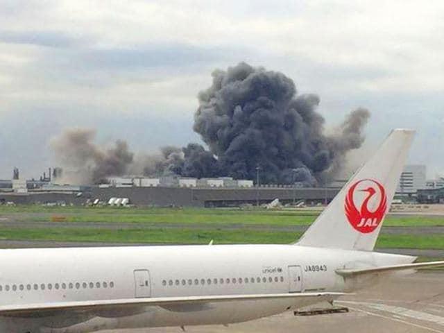 Tokyo,Steel plant fire,Nippon Steel & Sumitomo Metal