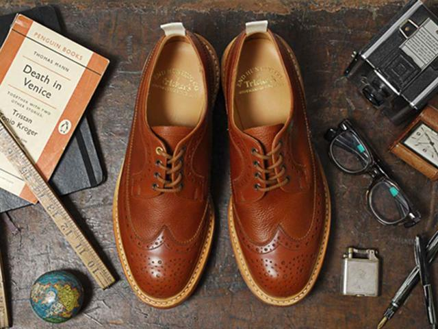 Men can wear brogues or go for the two-toned style if being in vogue with your shoes is what they like. (Shutterstock Photo)
