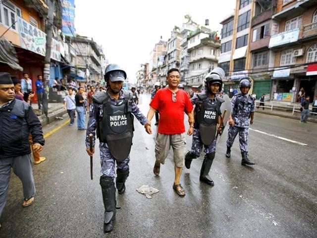 Nepal constitution protests,Saptari district,Nepal constitution