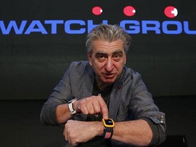 Swatch,Smartwatch,Touch Zero One