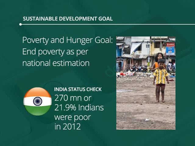 Sustainable pursuit of development: Goals and status check