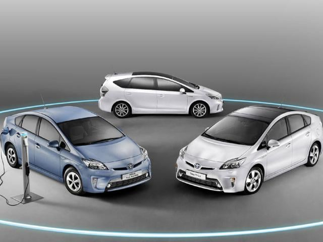 The Prius is Toyota's emblematic model and showcases the brand's hybrid technology. Photo:AFP
