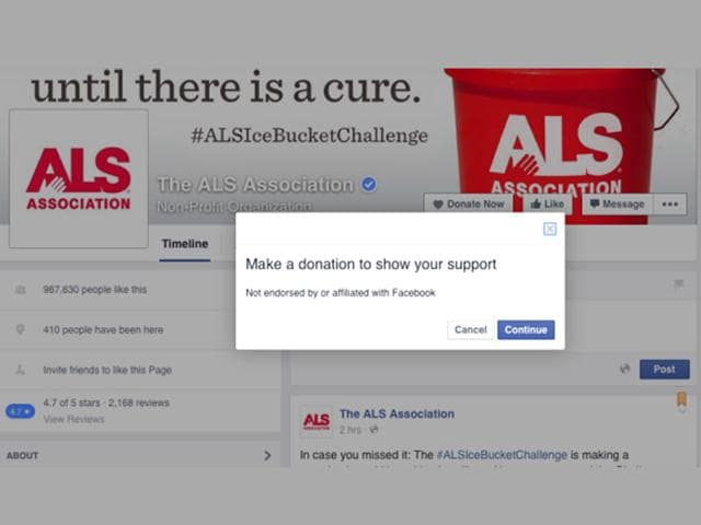 Facebook now allows non-profits to add a 'Donate Now' button to their page.