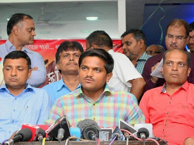 Hardik Patel,Patel community,Rallies
