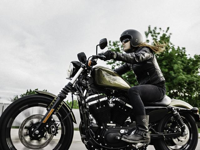 In 2016, Harley-Davidson's Iron 883 model will be available for $8,849. Photo:AFP