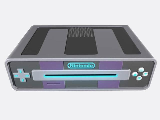 A fan made render of Nintendo's next gaming console codenamed NX.