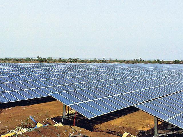 solar power generation in MP