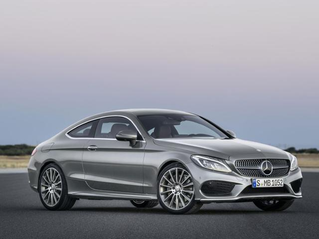 The new Mercedes-Benz C Classe Coupe will be the highlight of the Mercedes pavilion at the 2015 Frankfurt Auto Show. Photo:AFP
