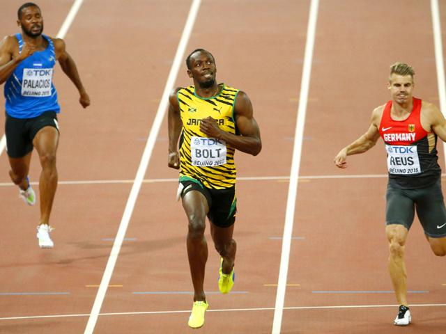 Usain Bolt,Justin Gatlin,World Athletics Championships