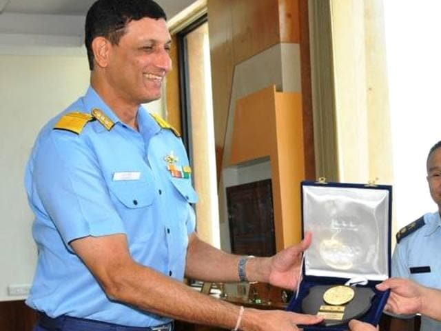 A R Karve,Chief of Personnel,Naval Headquarters