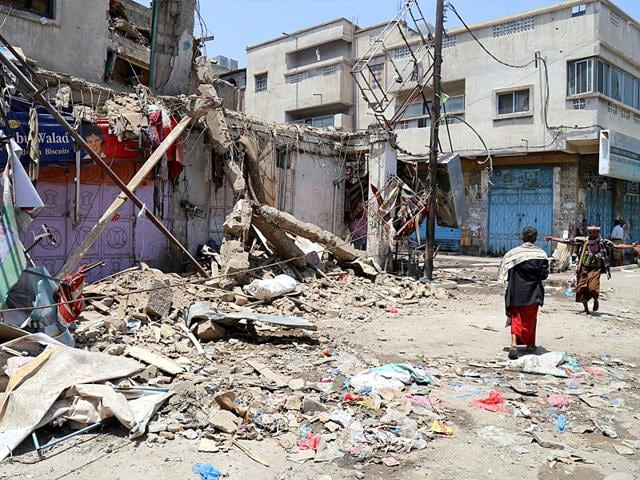 Yemen,Saudi-led air strikes,Civil war in Yemen