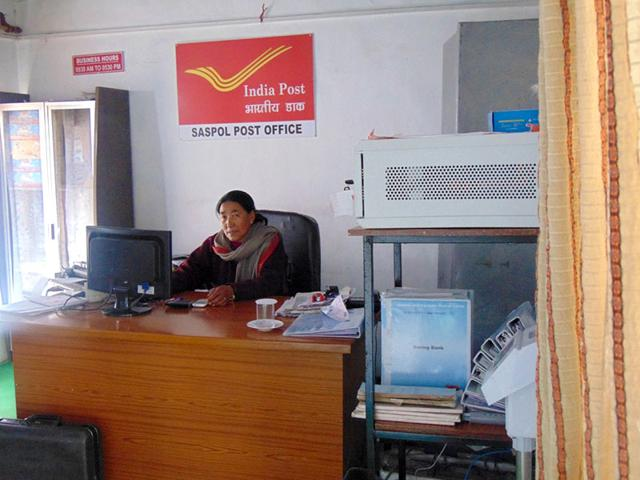 File photo of India Post office. (HT Photo)