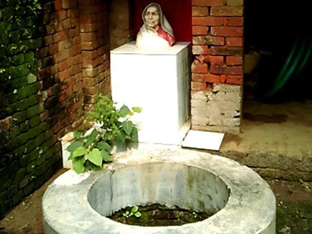 Bihar chief minister Nitish Kumar's ancestral house in Kalyanbigha, Nalanda district. (Ruchir Kumar/ HT Photo)