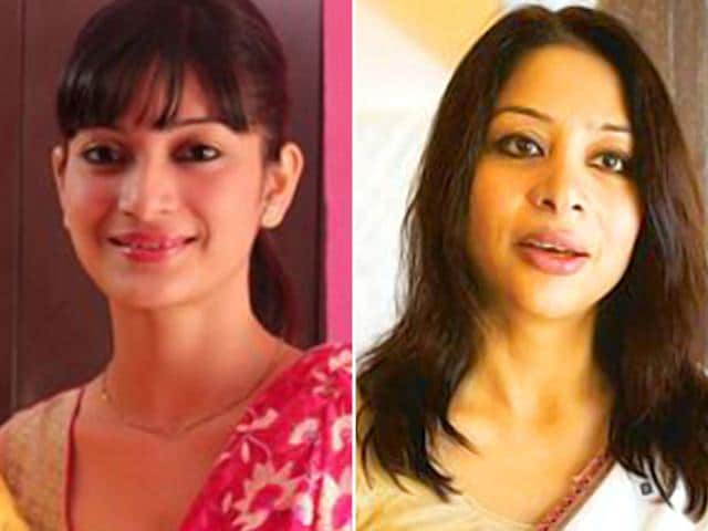Sheena Bora (left) and Indrani Mukerjea are seen in this combination photo prepared from Sheena's Facebook page.