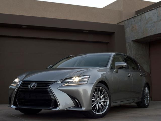 The redesigned Lexus GS will be one of the cars to premiere at the Frankfurt Motor Show 2015 on Toyota's exhibition showroom. Photo:AFP
