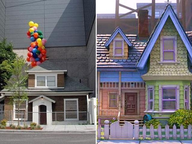 Real life Up house inspires its own movie. (Twitter)