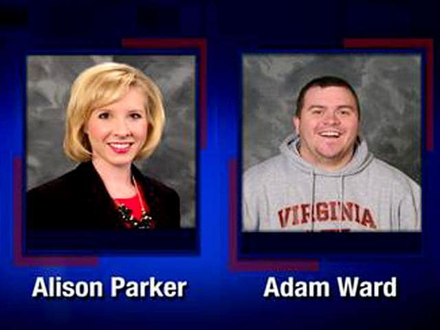 Two WDBJ7 journalists, Alison Parker and Adam Ward, were shot dead during a live broadcast (Photo courtesy - @WDBJ7)