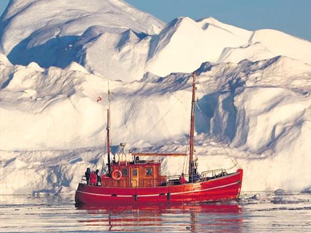 Ilulissat,Greenland,Nordic Lights