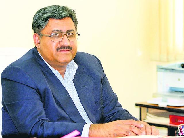 Girish Sahni, director general, Council of Scientific and Industrial Research (CSIR). (HT Photo)