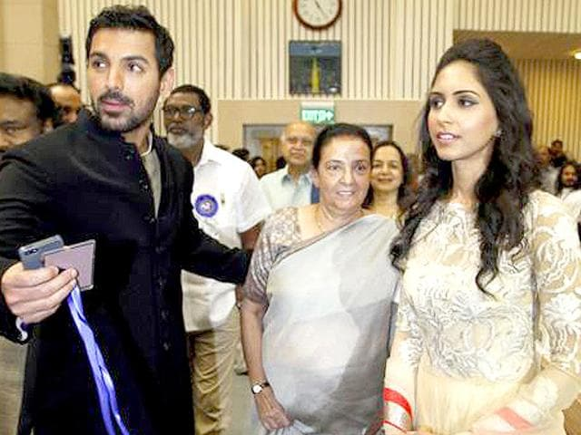 John Abraham and Priya Runchal tied the knot in 2014.